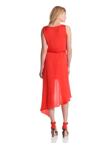 BCBGMAXAZRIA Damen Kleid JUF6V793 Rot (Bt.Poppy)
