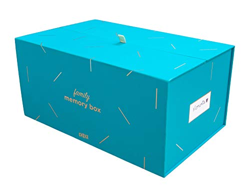 CHEERZ Memory Box - 100 tirages - Boite à Photos - tirages Photo - Boite à Souvenirs - Voyage - Famill