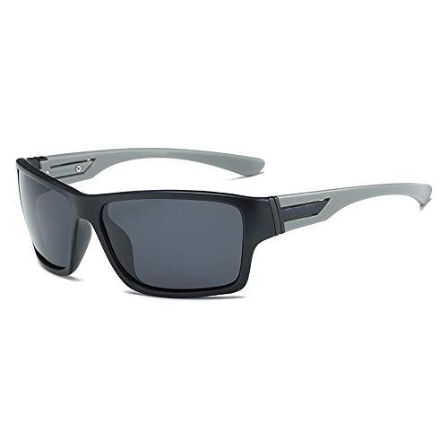 Ultraleichter Rahmen UV-Schnitt Unisex Bergsteigen Angeln Sonnenbrille Polarisierte Sonnenbrille Sonnenbrillen und flacher Spiegel ( Color : Silber , Size : Kostenlos ) ()