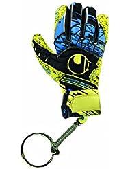 Uhlsport enfants Mini Glove Porte-clés, Lite Jaune Fluo/Noir, Taille unique