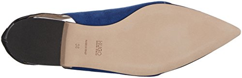 Hugo Gwen 10195629 01, Ballerines Femme Bleu (Medium Blue 429)