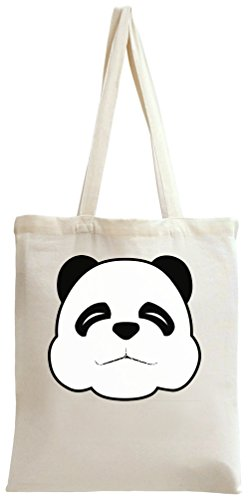 Sleepy Panda Face Tote Bag (Sleepy Bear Tee)