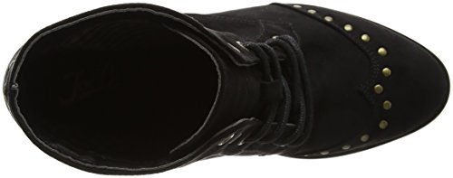 Joe Browns Damen Signature Ankle Boots Biker Schwarz (Schwarz)