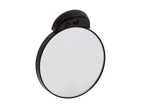 TWEEZERMAN Studio Collection Tweezermate 10 x Lighted Mirror,  schwarz,1er Pack (1 x 1 Stück)