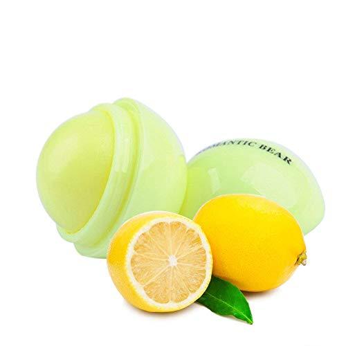 Demarkt Balsamo Labial BOLA de labios globo cacao de labios barra balsamo brillo natural (limón)