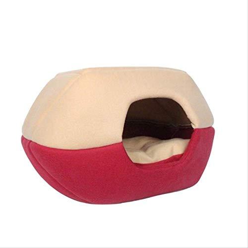 table Haustier Hund Katze Haus Nest Zelt Zwinger Doggy Winter Warme Kissen Korb Tierbett Höhle Haustier Produkte Liefert M 3 ()