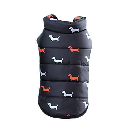 Dobbi Hundejacke Haustier Hunde Wintermäntel Hundemantel Hundebekleidung Dog Cute Herbst Winter Coat Weich Kostüme Verdickte Warme Pet Kleidung Comfort Gefüttert Outwear Welpen Dicke - Cute Dog Kostüm