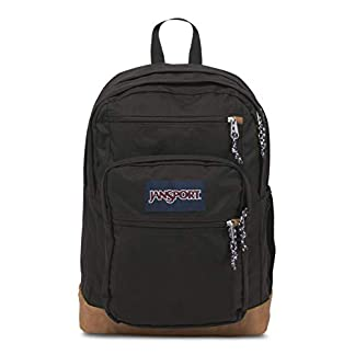 315t VOAjgL. SS324  - JANSPORT Cool Student Backpack Black Schoolbag JS0A25DD008 JANSPORT Bags