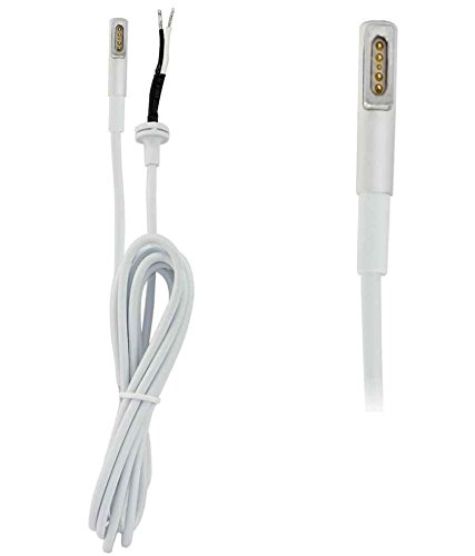 FUGEN Magsafe 1 DC Cable Cord for Macbook Air Pro (White)