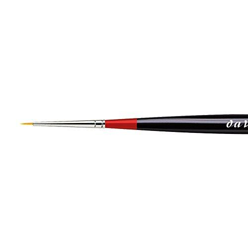 da Vinci Watercolor 170-5/0 Micro Nova Aquarellpinsel, Schwarz - Princeton Red Sable Brush
