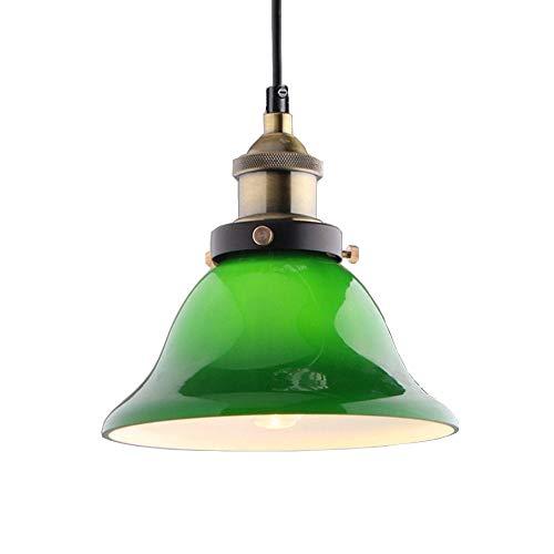 Lámpara colgante de iluminación de techo colgante vintage industrial Lámpara colgante de...