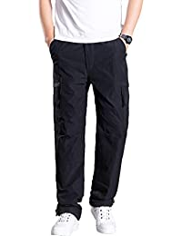 Ancient winds Herren Hose Winter Cargohosen Freizeithose Multi Tasche Cargo- Hosen Slim Straight Pants Mit 716cf83e1e
