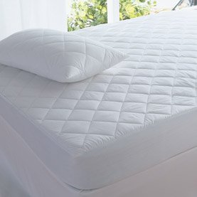 Love2Sleep QUILTED PILLOW PROTECTOR PAIR - FOR EXTRA COMFORT AND SUPPORT