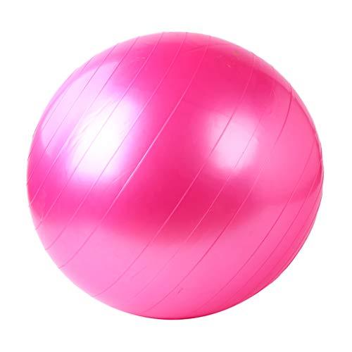 Home Warehouse Yoga Pallone Gonfiabile Palestra Pallone Donna Indoor Femmina Movimento Perdere Peso Formazione Fitness Donna Incinta Postnatalrestore Equilibrio Palla Yoga,55CM