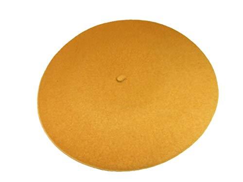 Woolmark Damen Baskenmütze Seeberger Damenbaskenmütze Winterbaske (One Size - bronze)