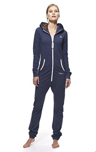 OnePiece - Jumpsuit Orignal Slim, Tuta intera Unisex - Adulto, Blu (Pale Navy), Small (Taglia Produttore: Small)