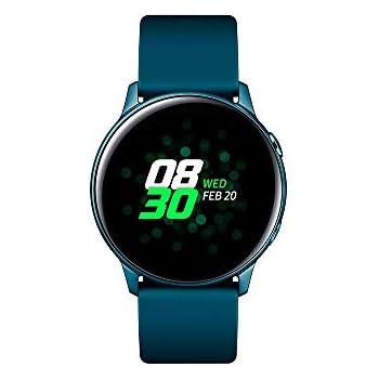 Samsung - Montre Galaxy Watch Active - Vert Emeraude - Version Française