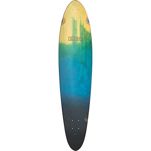Landyachtz Deck (Globe Skateboards Longboard Pinner Classic Skateboard Deck, Blue Fade Dye)