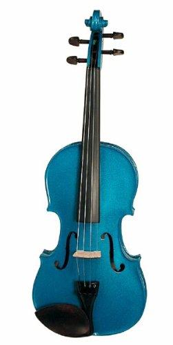Stentor Harlequin-Set violino-Preparato blu 4/4()