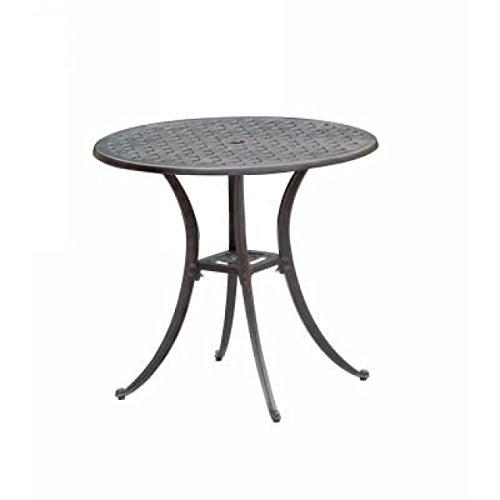 Inko Aluguss Tisch Nexus Bronze rund Ø 80 cm Tag 280-B