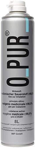 O-Pur Sauerstoff-Dose für die Maskennutzung, 8 l