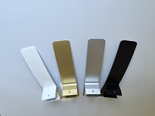 Metall Standfüße für Fern-Infrarotheizung (WEISS)
