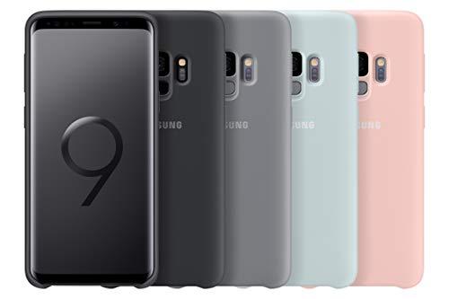 Samsung – Carcasa de silicona para Samsung Galaxy S9, color rosa