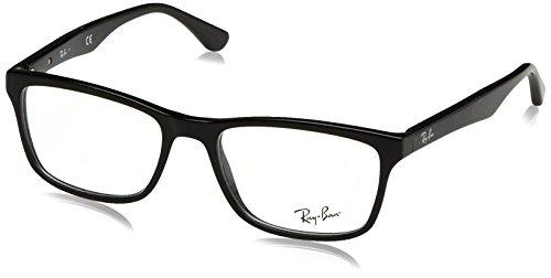 Ray-Ban Herren 5279 Brillengestelle, Schwarz (Negro), 55