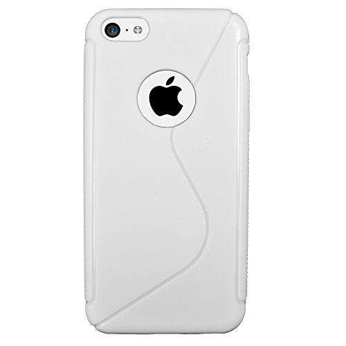 Für Apple iPhone Rubber Silikon Case Tasche Back Cover Hülle iPhone 6 Weiss Weiss