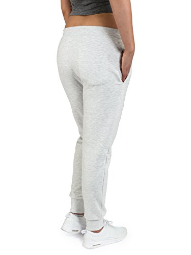 Casual Standard Jogginghose Damen Sweatpants Sporthose Trainingshose Jogger Light Grey