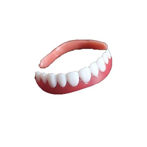 BianchiPatricia Perfect Smile Upper Veneer Comfort Flex Whitening Denture Paste False Teeth