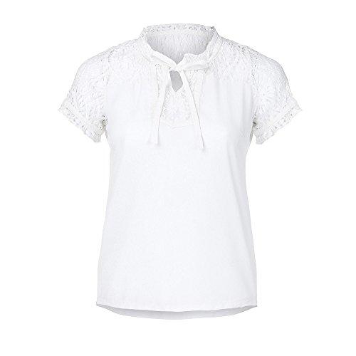 schwarz Oversize weiß xs Marke Nachthemd Chiffon Oktoberfest blau Kleid Mango Frauen feine Rollkragen blusen für Kinder Hemden t-Shirt t-Shirt-blusen festlich Damen Winte ()