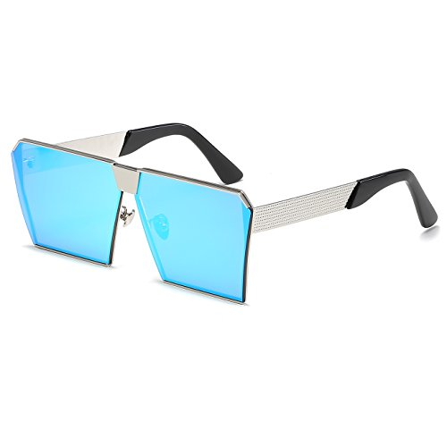 CVOO New Square Sunglasses Women Brand Designer Oversized Vintage Clear Sun Glasses Men
