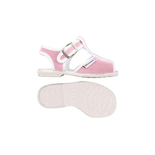 Superga 1200-Cotj, Chaussures à Brides Unisexe-Enfant, Rose pink