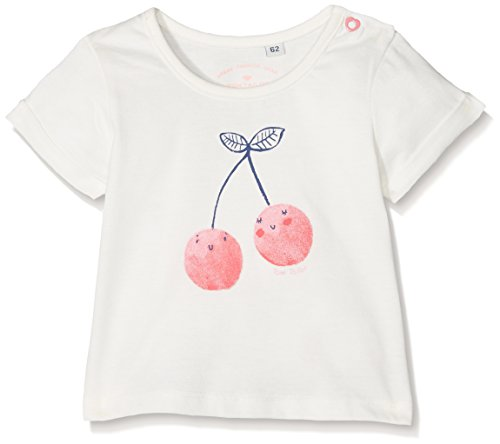 -Mädchen 1/2 T-Shirt, Pink (Cloud Dancer|White 1610), 68 ()