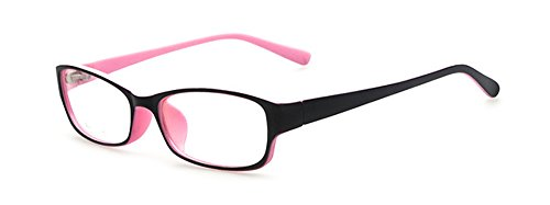 Outray Kinder Klassische Retro Rechteck klare Linse Brille,Wechselgläser Brillenfassungen Für...