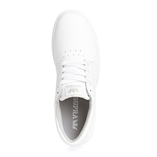 Supra Hammer, Sneakers Basses mixte adulte Blanc (White/White)