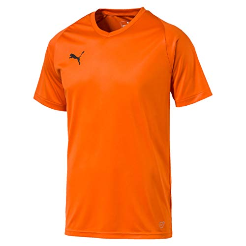 PUMA Herren Liga Core Jersey, Golden Poppy, XL -