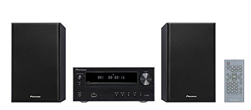 Pioneer X-HM 16-B CD Receiver System (15W pro Kanal, Front -USB-Anschluss) schwarz Home Stereo Receiver Pioneer