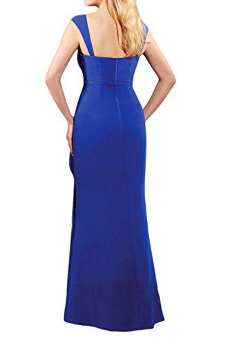 TOSKANA BRAUT - Robe - Trapèze - Femme Bleu - Bleu roi