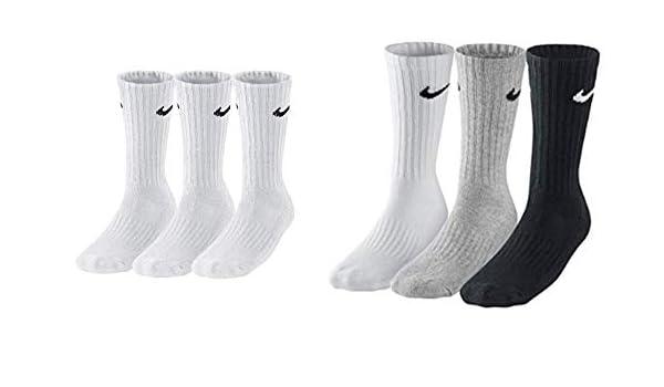 Nike Sx4508 001 Chaussettes pour homme Multicolore 42 46