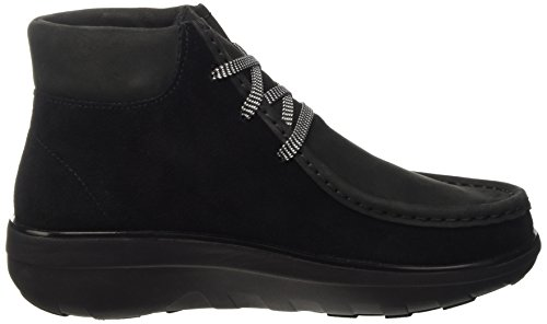 FitFlop Chukkamoc Boot, Scarpe a Collo Alto Donna Nero (Black)