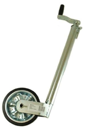 Maypole 9741 Heavy Duty Smooth Jockey Wheel without Clamp, 48 mm