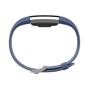 Fitbit Charge 2 Pulsera de Actividad física y Ritmo cardiaco, Unisex, Azul, L