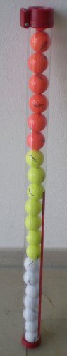 Edle Ballsammelröhre für 21 Golfbälle vom PGA Pro
