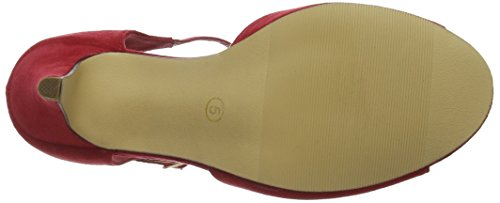 Joe Browns Forever Vintage T Bar Shoes, Barre en T femme Red (a-red)
