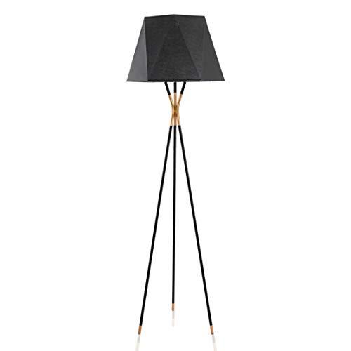 en Einfache Moderne Wohnzimmer Schlafzimmer Arbeitszimmer Lampe Nordic Kreative Tuch Lampenschirm Stativ Stehlampe Fernbedienung Licht ()