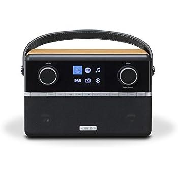 Roberts Stream94i DAB+/DAB/FM Internet Radio with Spotify Connect and Added Bluetooth - Black/Wood