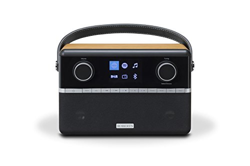 Roberts Radio Stream 94i E Stéréo Internet Radio WiFi/Bluetooth Bois - Cerise
