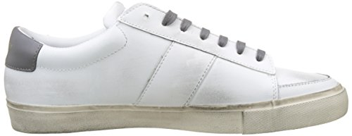 Jim Rickey Gusten, Baskets Homme Blanc (White/Graphite 12b)